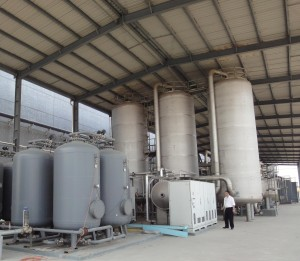 600 m3/h Advanced Oxidation Process for TOC reduction