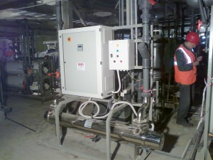 UV System for TOC reduction in a Power Plant